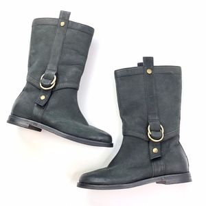 Cole Haan   Nike Air Genuine Leather Mid Calf Boot